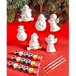12-Pc. Paint Your Own Ornament Set
