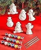 12-Pc. Paint Your Own Ornament Set