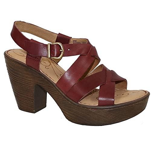 af83fdc308ff1 Image Unavailable. Image not available for. Color: keerygo High Heeled  Sandals Leather ...