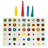 Montessori Knobless Cylinders Montessori Color
