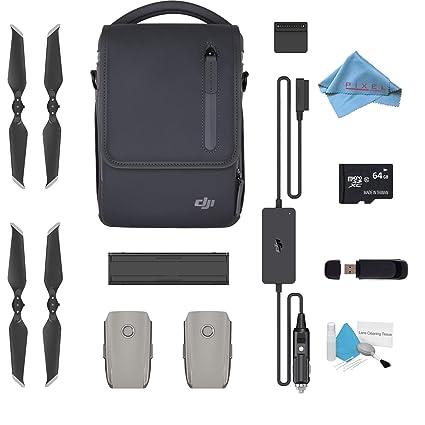 998baa6f034 Amazon.com: DJI Mavic 2 Fly More Kit for Mavic 2 Pro & Mavic 2 Zoom Accessories  Combo Bundle + 64GB SDXC: Electronics