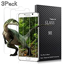 Samsung Galaxy Note 5 Screen Protector,Airsspu Tempered Glass 3D Touch Compatible,9H Hardness,Bubble (3 Pack)