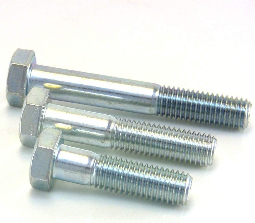 50 St/ück M10 a Sechskantschrauben metrisch mit Teilgewinde 8.8 // M5 8 x 120