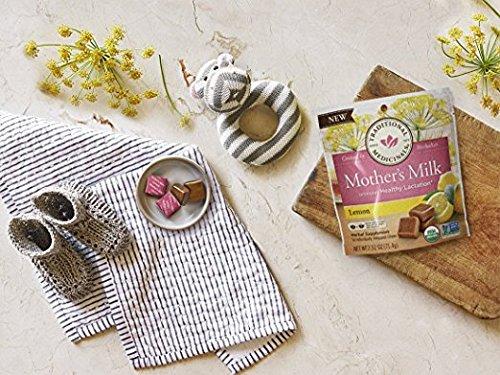 Traditional Medicinals Mothers Milk Lemon Chews, 14 Count (Pack - 2)