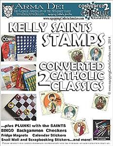 Kelly Saints Stamps Craft Kit