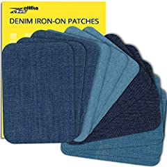 Zefffka Iron-on Denim Patches Perfect for repairing and decorating Patching jeans is not a difficult task, even when there is no sewing machine at hand.  Iron-on patches make the task simple, as only an iron and an ironing board are required!...