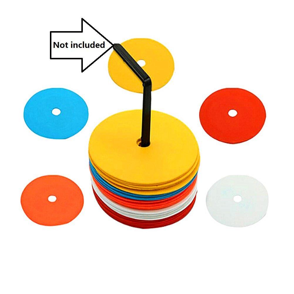 Minibaby 5pcs / Set Soccer Training Multifunctional TPE Flexible Logo Dish / Jump House Game