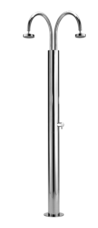 ducha exterior de acero inoxidable para el jardín Idra C140 ...