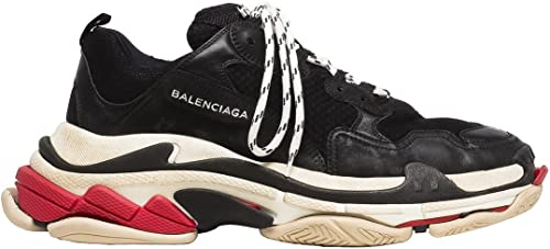 Balenciaga Triple S Trainers BlancVert FluoNoir UFO shoes