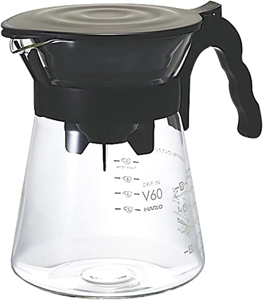 Amazon.com: Hario – Cafetera de émbolo (700ml), color negro ...