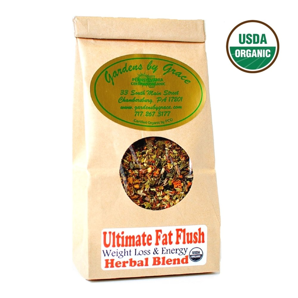 Ultimate Fat Flush | Weight Loss, Detox, Cleanse, Metabolism Booster,  Appetite Suppressant, Cellulite Release, Fat Burner | Organic, Slimming  Tea,
