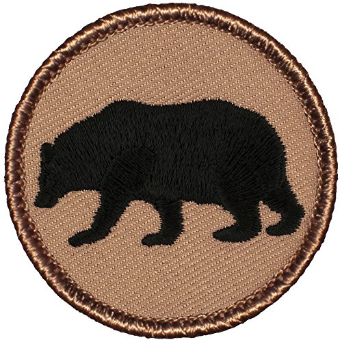 Bear Silhouette Patrol Patch - 2