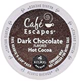 CAFE EXCAPES DARK CHOCOLATE HOT COCOA 48 K Cups