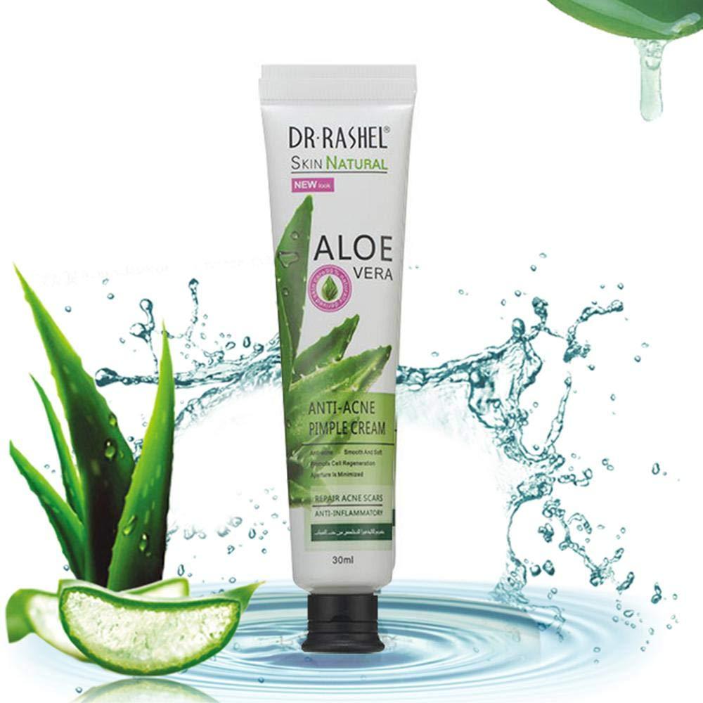 Crema antiacné Aloe Vera para reparación de pawaca, gel de ...