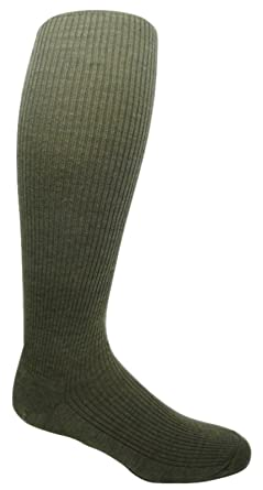 """39d123acd94e0 Military Wool Combat Boot Liner Socks """"over the knee"""" length (6  Pairs"""