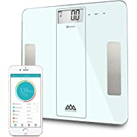 SENSSUN Bluetooth Smart Body Fat Scale, Digital Bathroom Scale, BMI Weighing Scales Body, Body Composition Analyzer with…