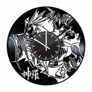 Amazon Com Final Fantasy Vinyl Record Wall Clock Video