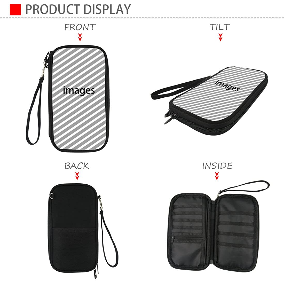 Multi-function Passport Holder Travel Wallet for Women Men