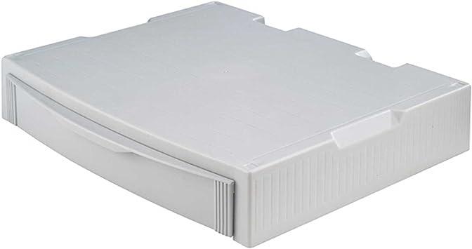 Han Monitor Stand Profi Monitorständer Mit 1 Schublade Stabil Schick Und Stapelbar Grau 9250 11 Bürobedarf Schreibwaren