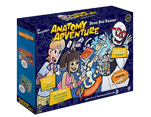 Know Yourself The Skeletal System Anatomy Adventure: Bone Box Bazaar