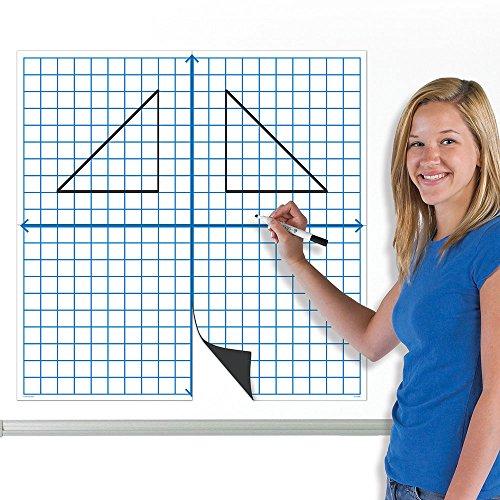 (EAI Education Jumbo Magnetic X-Y Coordinate Grid)