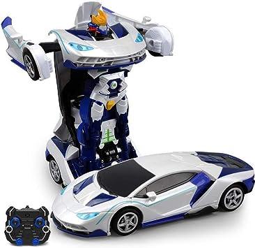 Ycco Control remoto inalámbrico RC Optimus Prime Deformación Coche ...