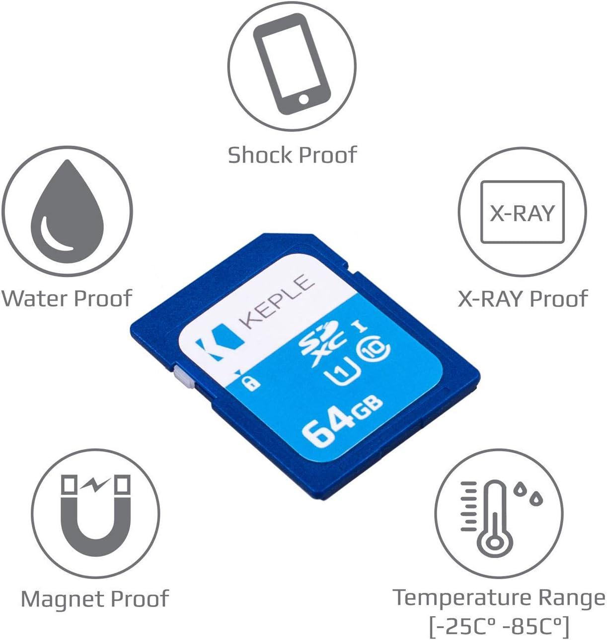 NEX-3N 7 Keple 32GB 32Go SD Memoire Carte de High Speed SD SDcarte Compatible avec Sony Alpha NEX-6 7R A3000 A5000 DSLR Digital Camera NEX-5T 32 GB Go G Storage Classe 10 UHS-1 U1 SDHC Card