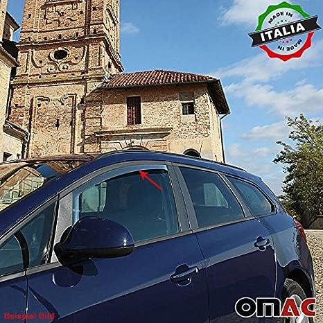 Omac Gmbh Vw Up Skoda Citigo Seat Mii Windabweiser Regenabweiser 2 Tlg Satz Vorne Ab 2012 Auto