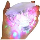 Bestland - Luce sottomarina al LED, multicolore, con colori RGB e 5modalità di illuminazione da discoteca, per vasche da bagno, laghetti, piscine, spa o idromassaggio