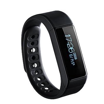 OMORC Smart Bracelet Connecté Sport Fitness Tracker Podomètre Calories Sommeil Bracelet avec Écran Tactile Fitness Montre