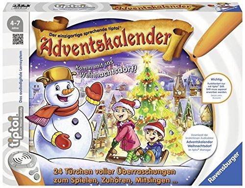 tiptoi® Adventskalender: Komm mit ins Weihnachtsdorf! Kalender – Adventskalender, 3. August 2017 Ravensburger Buchverlag B06XK5JHQ4 Mit Türchen Briefchen
