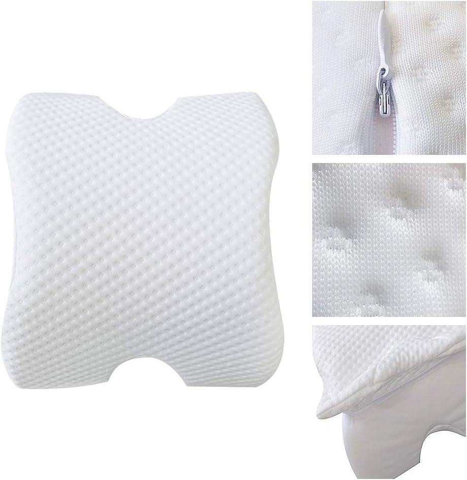 previene la Pressione cervicale 35 x 30 x 13 cm PUAO in Memory Foam Cuscino da Ufficio