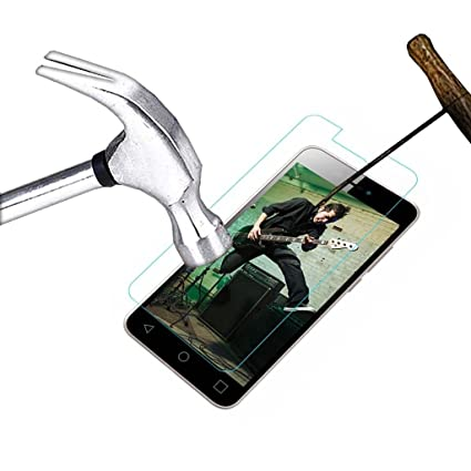 Acm Tempered Glass Screenguard For Micromax Canvas Spark 3 Q385 Mobile Screen Guard <span