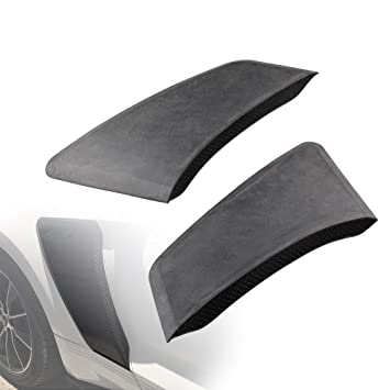 Ruien GT Style Rear Fender Panel Door Side Scoops Vents For 2015