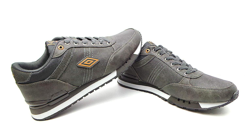 Umbro Grigio/Arancione RFP38006S-SHA, Herren Sneaker Grau Grigio/Arancione Umbro - 8372af