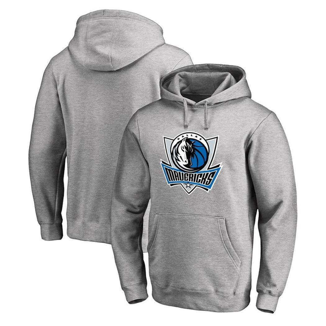 Color : Blue, Size : S Mens Sweatshirt Hoodie For Dallas Mavericks American Football Jerseys Hoodie Autumn Loose Fleece Sweatshirts