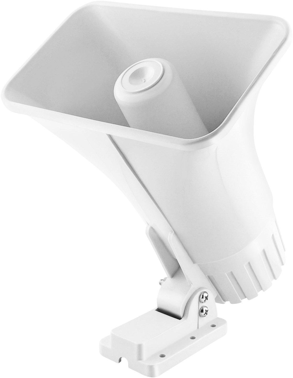 XINFLY Sartén de seguridad electrónica con cable para sirena, 2 tonos, para interior y exterior, con soporte, 30 W, 12 V CC, para sistema de protección de seguridad en el hogar