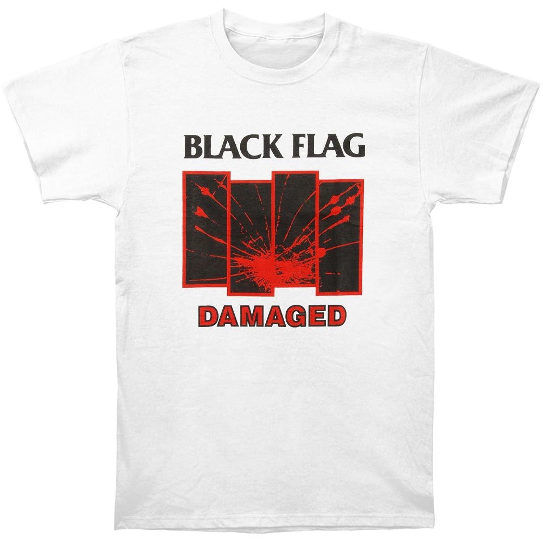 Black flag t shirt europe - Black Flag Damaged T Shirt