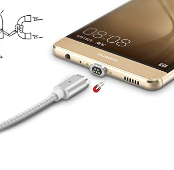 USB tipo C Cable magnético WSKEN Mini 2 Super Fast Cable de ...