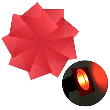 9 Color Gel Transparent Film Plastic Sheets Light Filter Correction Photostudio Stage Lighting & Effects