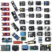 DishyKDishyKooker 45 in 1 Sensors Modules Starter Kit Better Than 37in1 Sensor Kit 37 in 1 Sensor Kit U-NO R3 Me-ga2560…
