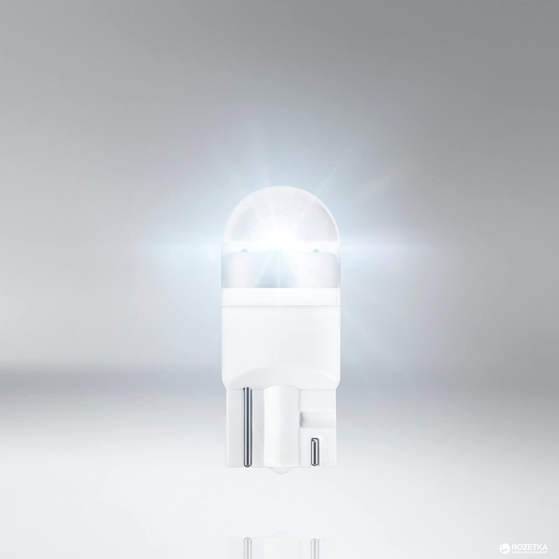 Cool White 6000/K Blanco fr/ío traseras Park de luces de posici/ón de l/ámpa 2 Matr/ícula Xenon de Look Matr/ícula intermitente lado doble Ampolla Osram Ledriving/® 2850/CW de 02B T10/W2,1/x 9,5d