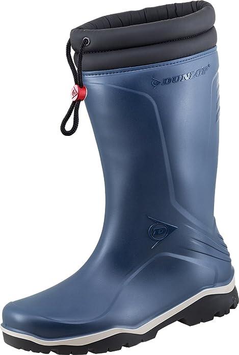 más baratas 26a3e 591e4 Dunlop - Botas de Caucho para Hombre Azul Azul: Amazon.es ...