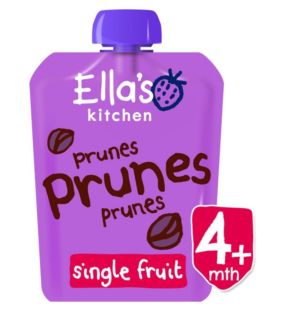 Ella'S Kitchen Prunes Prunes Prunes Stage 1 From 4 Months 70G Ella's Kitchen