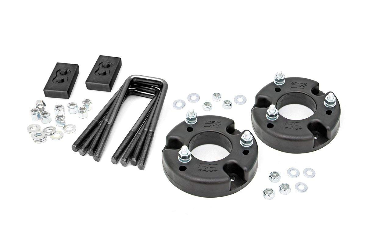 Rough Country 52201 - 2in Leveling Lift Kit Ford 09-18 F150 4WD/2WD