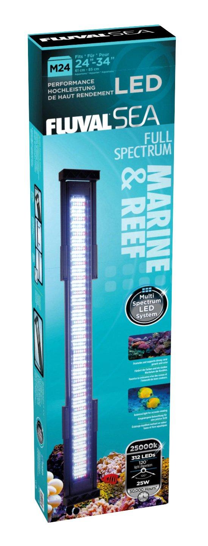 Amazon fluval led 24 inch marine lamp 25 watt aquarium amazon fluval led 24 inch marine lamp 25 watt aquarium lights pet supplies aloadofball Image collections