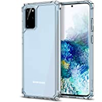 ESR Air Armor Designed for The Samsung Galaxy S20 Plus Case [Shock-Absorbing] [Scratch-Resistant] [Military Grade…
