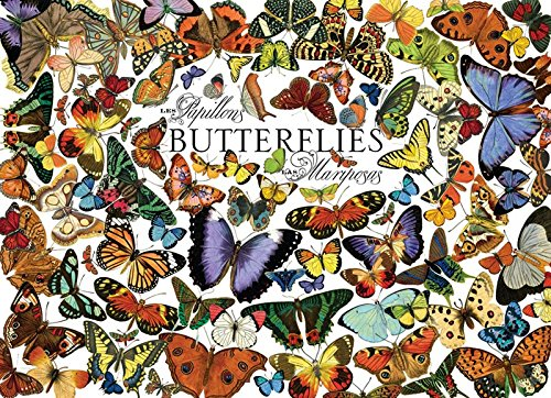 COBBLE HILL Butterflies Jigsaw Puzzle (1000 Piece)