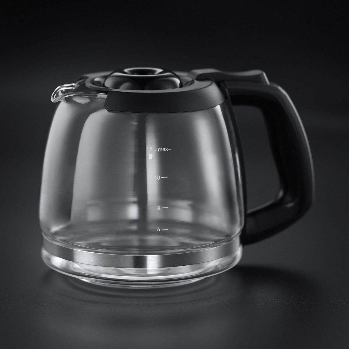 Russell Hobbs 22000-56 Machine /à Caf/é Cafeti/ère Filtre Semi Automatique Chester Ultra Silencieuse Moulin /à Caf/é