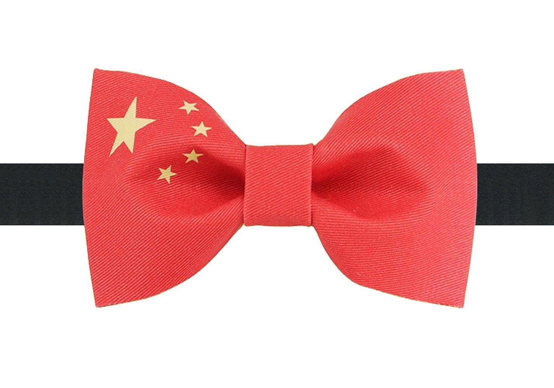 Dise?o De Corbata Bandera Nacional China Textile Printing Pajarita ...